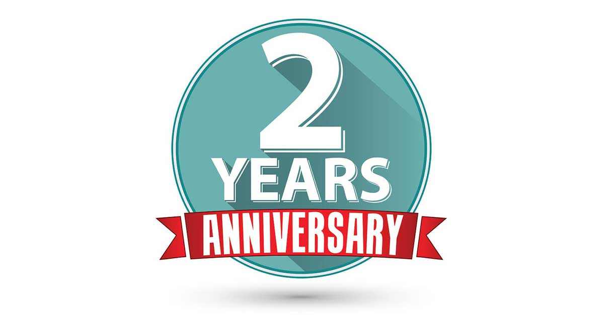 Our nd anniversary in website design a great industry
