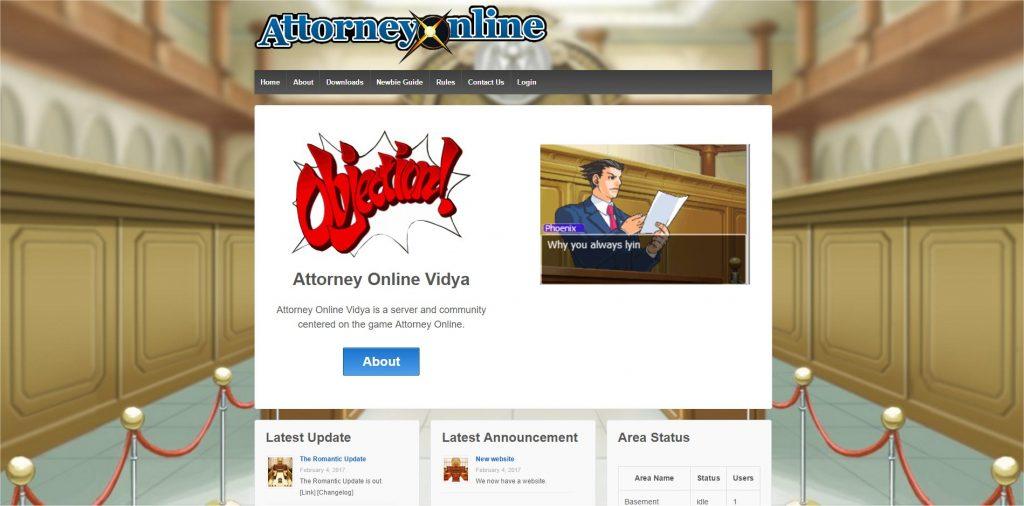 attorney online game