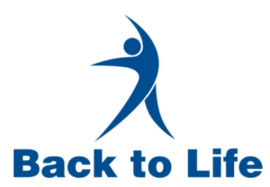 back to life website logo