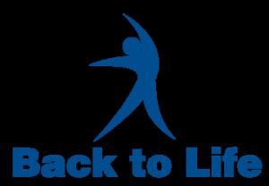 back to life website logo